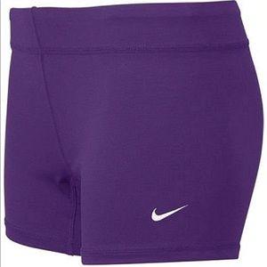 Nike purple spandex!